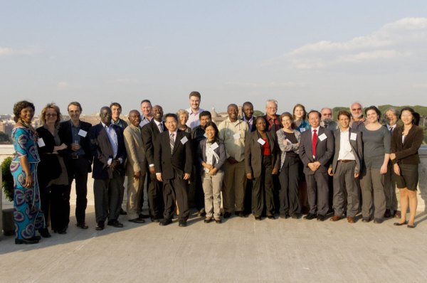 Participants in the Expert Meeting in Rome