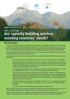 Are capacity building services meeting countries' needs?