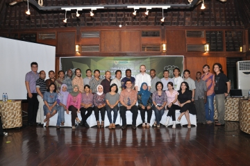 Photo from RECOFTC's training on FPIC in Indonesia, September 2012.