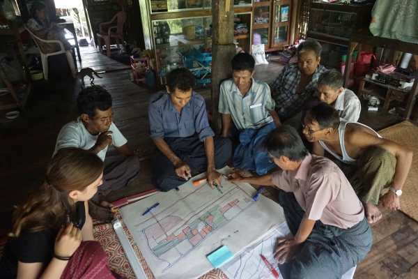 CF mapping in War Kone village